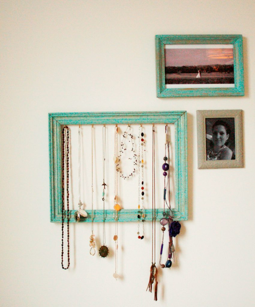Frame necklaces - Kader voor kettingen - Gallery wall - Fotowand