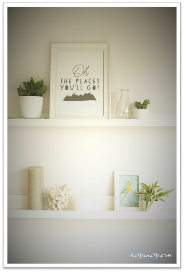Summer decor - scandinavian - green plants - Oh the places you'll go