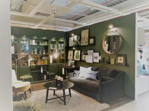 Ikea-livingroom-green