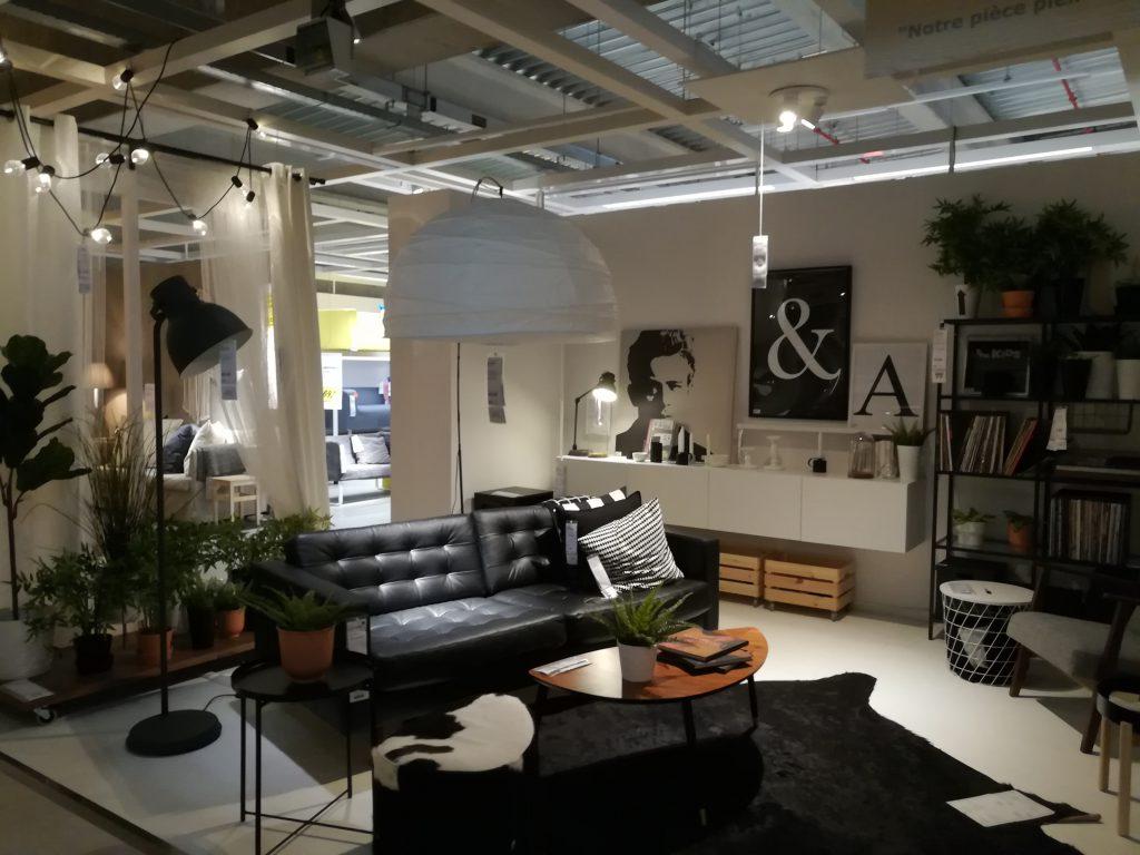Ikea-livingroom-monochrome