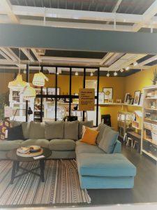 Ikea-mintgroene-sofa-Gronlid